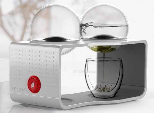 Bodum Coffee & Tea Maker by Sunny Ting Wai Wong ≫ Yanko Design