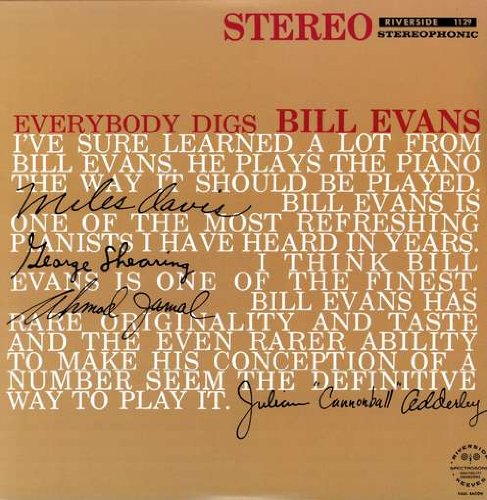 Amazon.co.jp: Everybody Digs Bill Evans [Analog]: 音楽