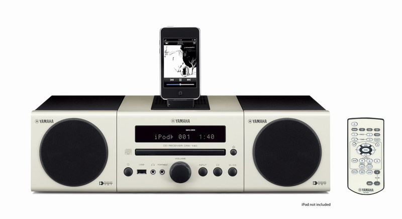 Yamaha's yAired-equipped MCR-140 micro stereo wirelessly talks to iPods and subwoofers - Engadget Galleries