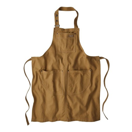 All Seasons Hemp Canvas Apron, Coriander Brown (COI)