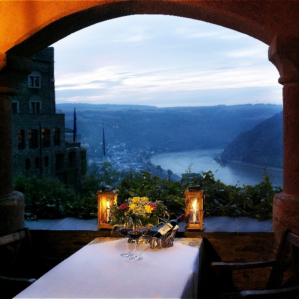 Castle Hotel Restaurant Schoenburg Oberwesel Rhine River Germany Schönburg Rooms Terrace Events Meetings History Culture Map Schonburg German Castles Hotels Vacation Lorelei Loreley Coblenz Koblenz Bingen Burghotel Rhein Burg Lodging Room