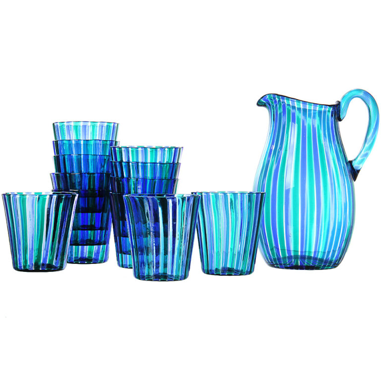 Pitcher and Tumblers By Gio Ponti at 1stdibs