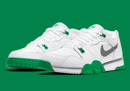 Cross Trainer Low - White/Lucky Green/Grey