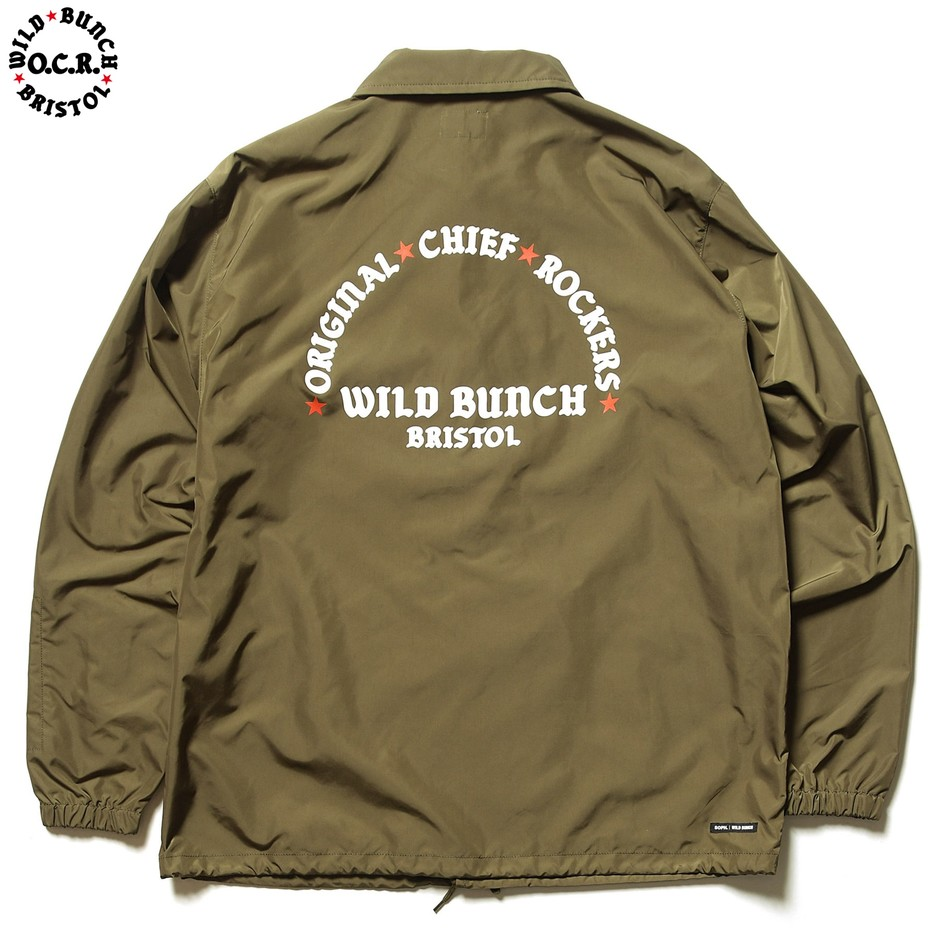 SOPH. | WILD BUNCH COACH JACKET(M KHAKI):