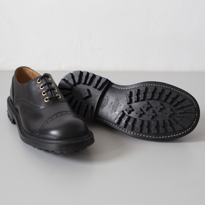 Quilp Shoes / M7401 Oxford Shoe / Black x Black , 2 Tone - Store - nonsect radical