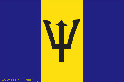 Flags of Barbados - geography; Flags, Map, Economy, Geography, Climate, Natural Resources, Current Issues, International Agreements, Population, Social Statistics, Political System