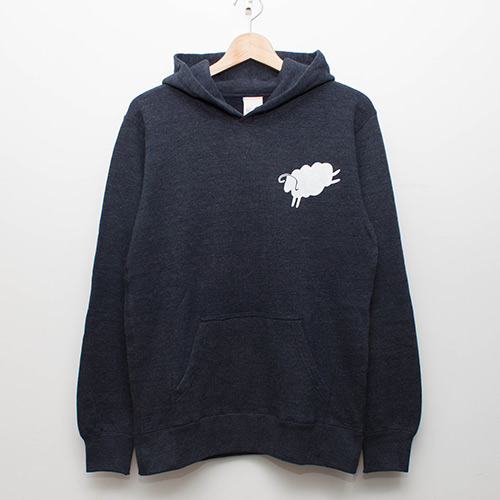 Pullover Hoodie - Navy - cup and cone WEB STORE