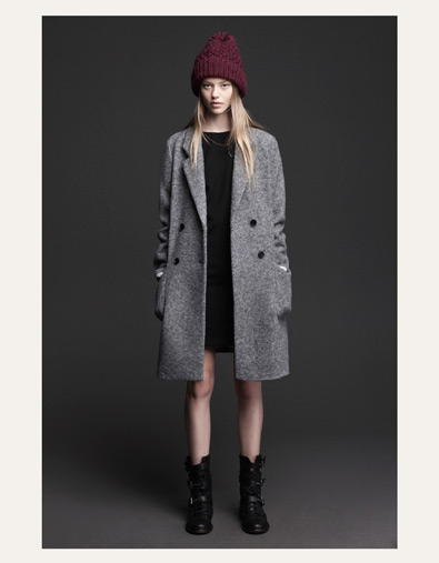 WOOLLEN CLOTH COAT - Jackets - TRF - ZARA United States