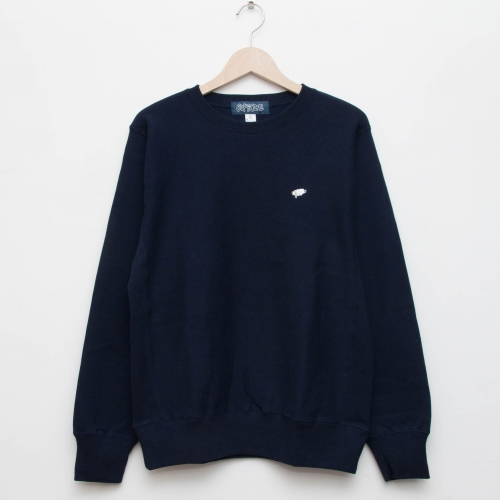 Basic Crew - Navy - cup and cone WEB STORE