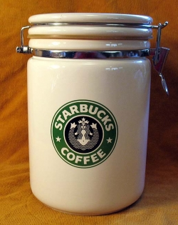 Buy a Genuine Starbucks Coffee Canister