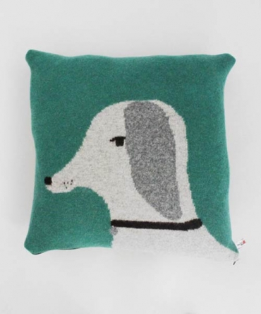 Lazy Oaf | Donna Wilson Dog Cushion - Jade