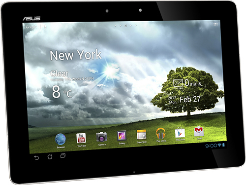 Asus - Tablet with 64GB Memory - Champagne Gold - TF700T-C1-CG