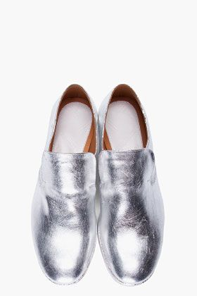 ♤Flats!!! / Silver Shoes from Maison Martin Margiela