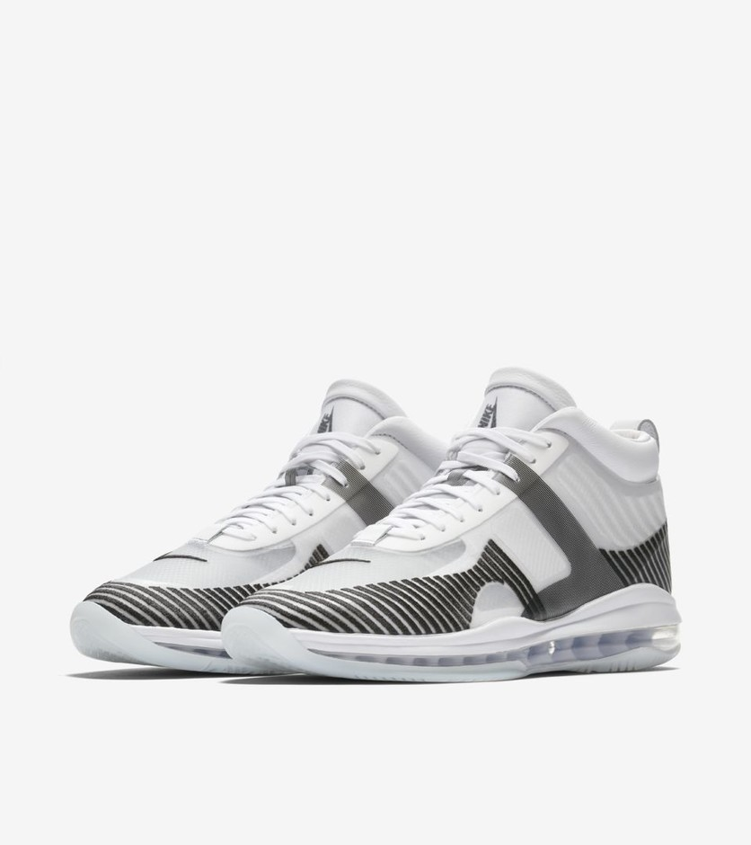Nike LeBron x JE Icon 'White & Black' Release Date Nike⁠+ SNKRS