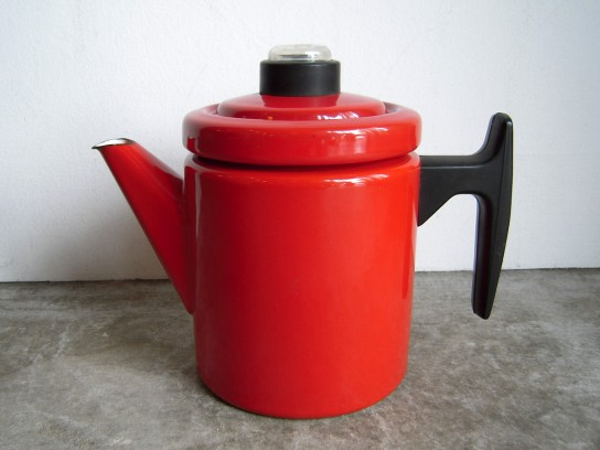 Red Coffee Pot(S) with Percolator : biotope