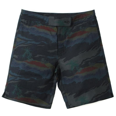 Adam Kimmel Board Shorts (Black Hawaiian Overdye)