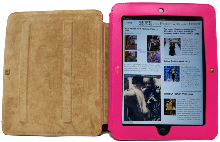 Accessories Spotlight: Celine iPad Case | 5th at 58th