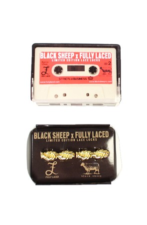 Fully Laced x Black Sheep Gold Chain Lace Locks
