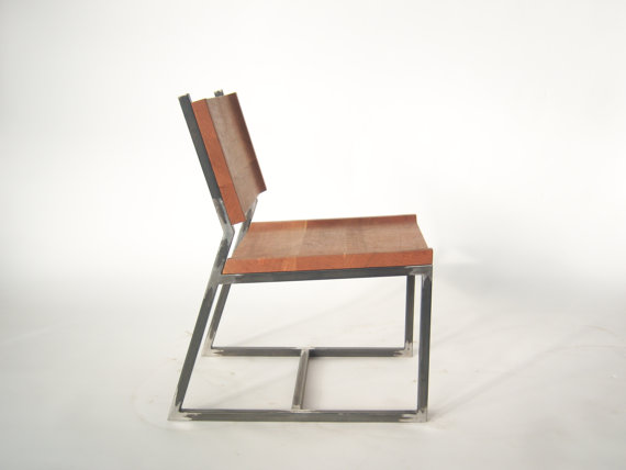 Introducing The L7 Dining Chair A by BombFactoryFurniture on Etsy