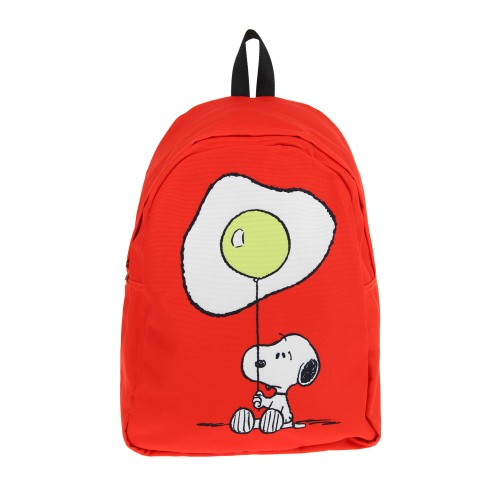 """colette RODNIK X PEANUTS Backpack """"Snoopy With Fried Egg"""""""