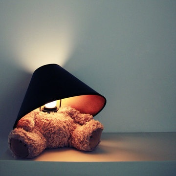Teddy Bear Lamp by Matthew Kinealy