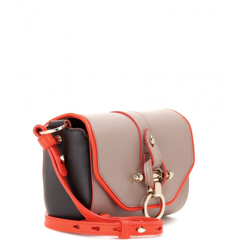 mytheresa.com - Obsedia leather shoulder bag - Shoulder bags - Bags - Givenchy - Luxury Fashion for Women / Designer clothing, shoes, bags