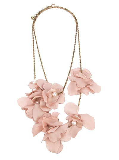 Lanvin Silk Flower Necklace - Bernardelli - farfetch.com