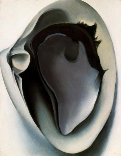 Clam and mussel - Georgia O'Keeffe - WikiPaintings.org