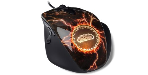 Amazon.co.jp: SteelSeries World Of Warcraft MMO Gaming Mouse Legendary Edition - World of Warcraft 向け光学式ゲーミングマウス 62050: ゲーム
