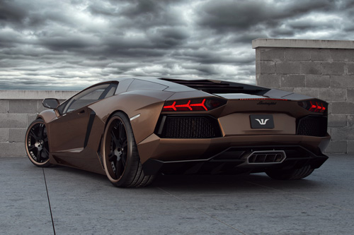 Wheels and tuning for Lamborghini Aventador LP 700-4 incl. exhaust and ecu power upgrade