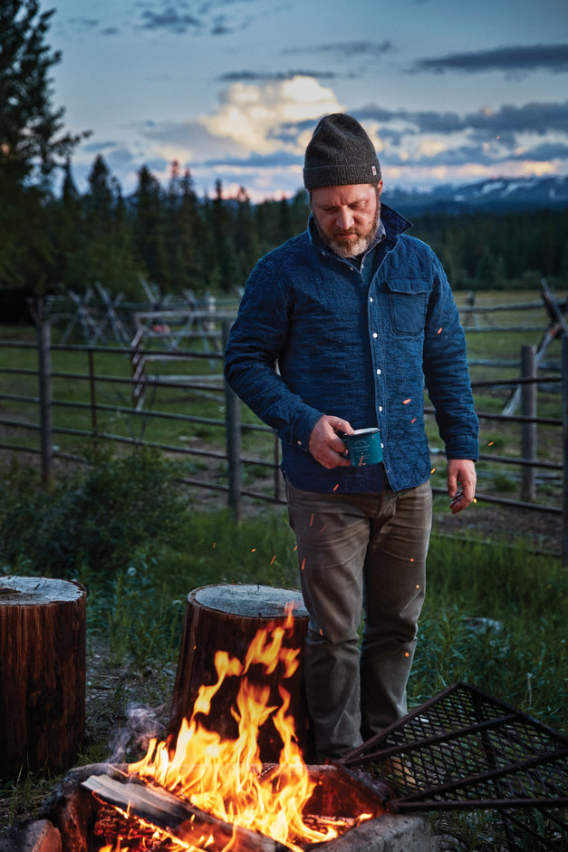 Best Made Company — The Quilted Indigo Overshirt