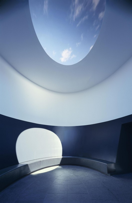 The Color Inside / Overland Partners + James Turrell Skyspace   ArchDaily