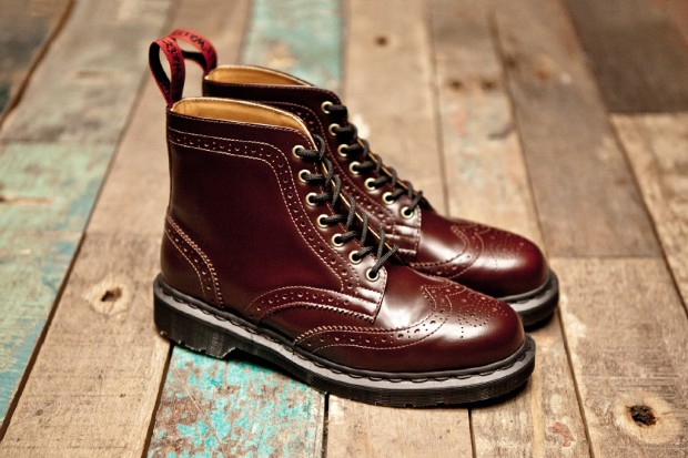 BEAMS x Dr. Martens 7-Eye Brogue Boot | Hypebeast