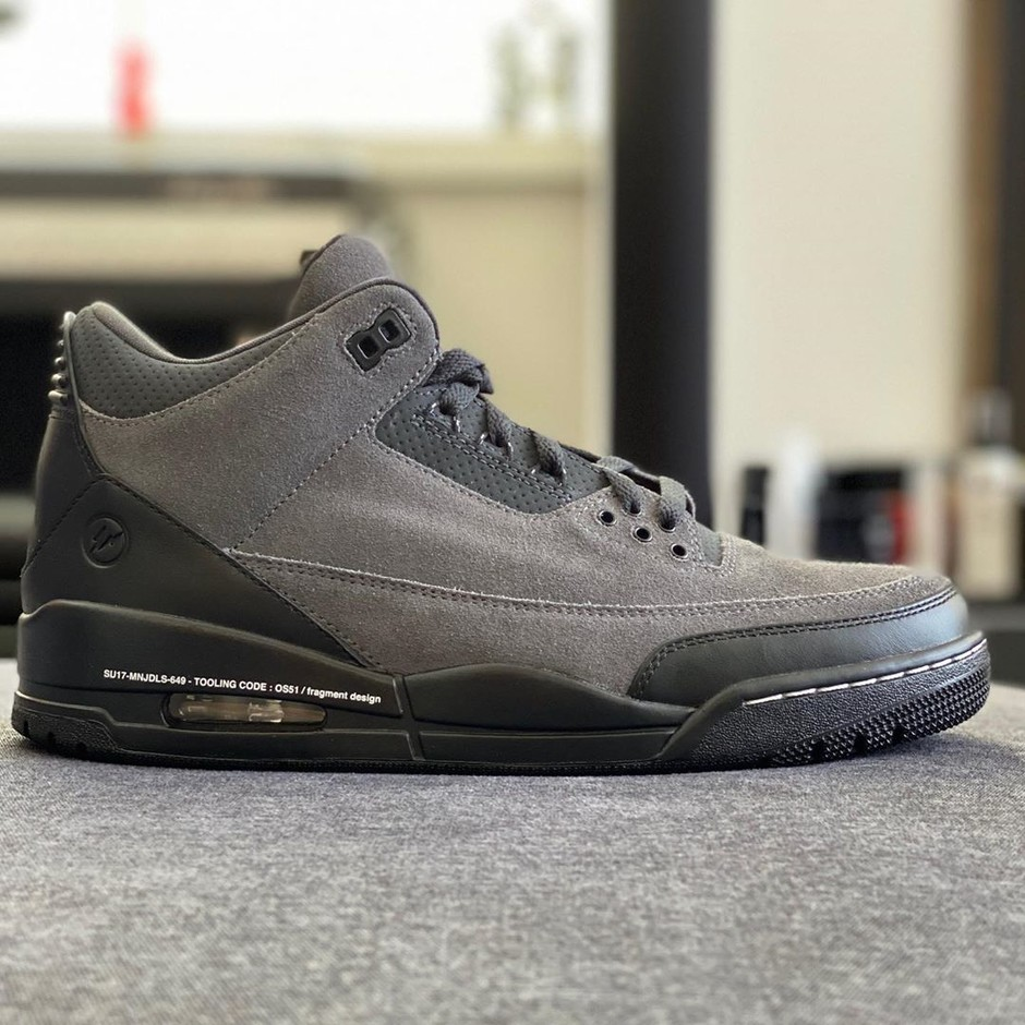 """Hiroshi Fujiwara Shares First Look at Scrapped Fragment x Air Jordan 3 """"The Ten"""" Sample - HOUSE OF HEAT   Sneaker News, Release Dates and Features"""
