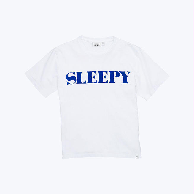 SLEEPY JONES // LOGO T-SHIRT | THE MOTT HOUSE T...