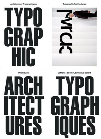 manystuff.org — Graphic Design daily selection » Blog Archive » Wim Crouwel – Catherine de Smet