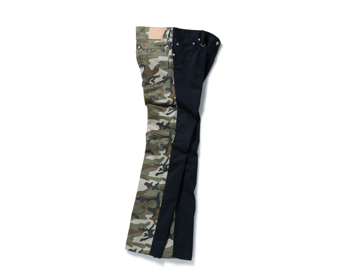 SOPHNET. | PRODUCT | CAMOUFLAGE MIX 5 POCKET PANT