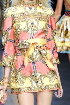 D Spring 2012   Baroque Inspired Fashion