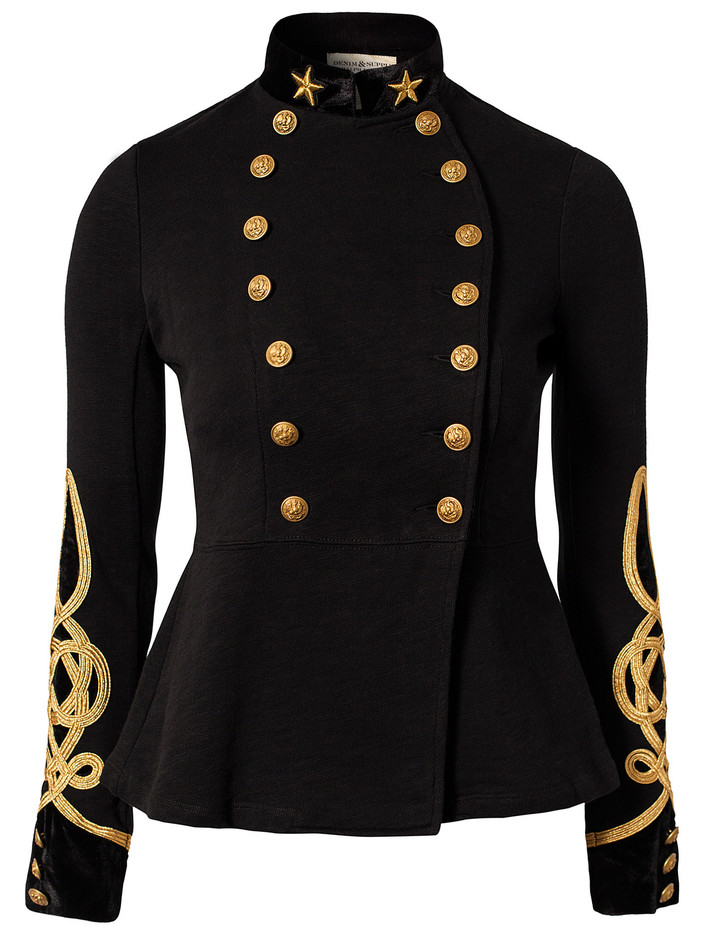 Military Jacket - Denim & Supply Ralph Lauren - Black - Jackets And Coats - Clothing - Women - Nelly.com Uk