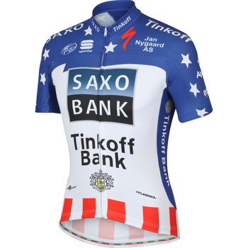 Wiggle 日本 |チームジャージー Sportful Team Saxo Tinkoff USA Champ Pro Jersey - 2013