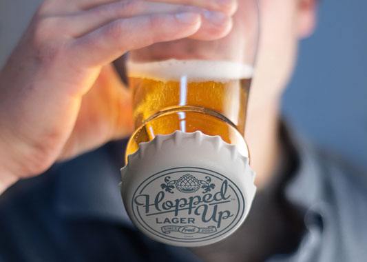 Fred & Friends » Products » HOPPED UP Beer Glass