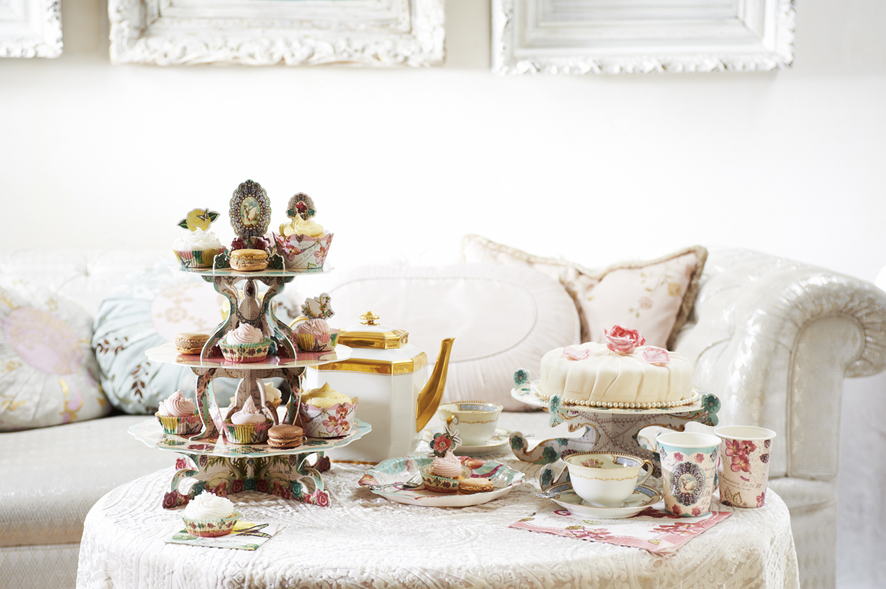 Pastries and Pearls-Cake Stand-Talking Tables Designers of Stylish Partyware