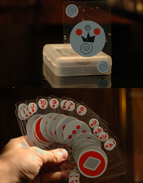 (4) Fancy - Invisible Waterproof Playing Cards