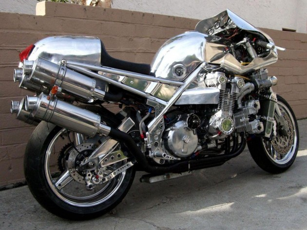 V12-Powered Honda CBX by Andreas Georgeades | Custom Motorcycles & Classic Motorcycles - BikeGlam