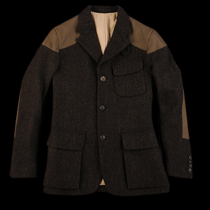 UNIONMADE - NIGEL CABOURN - Classic Mallory Jacket in Black Brown