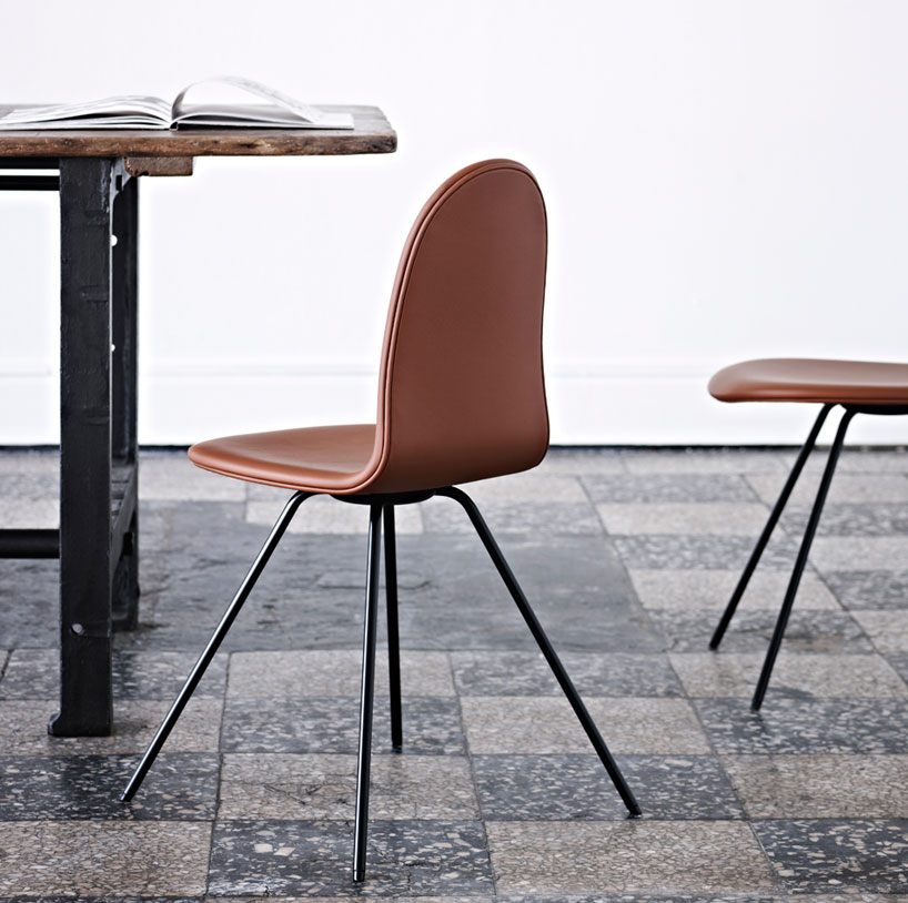 arne jacobsen's tongue chair re-issued by HOWE