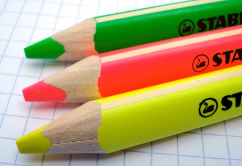 pencil talk | pencil reviews and discussion » Stabilo GREENlighter highlighting pencils