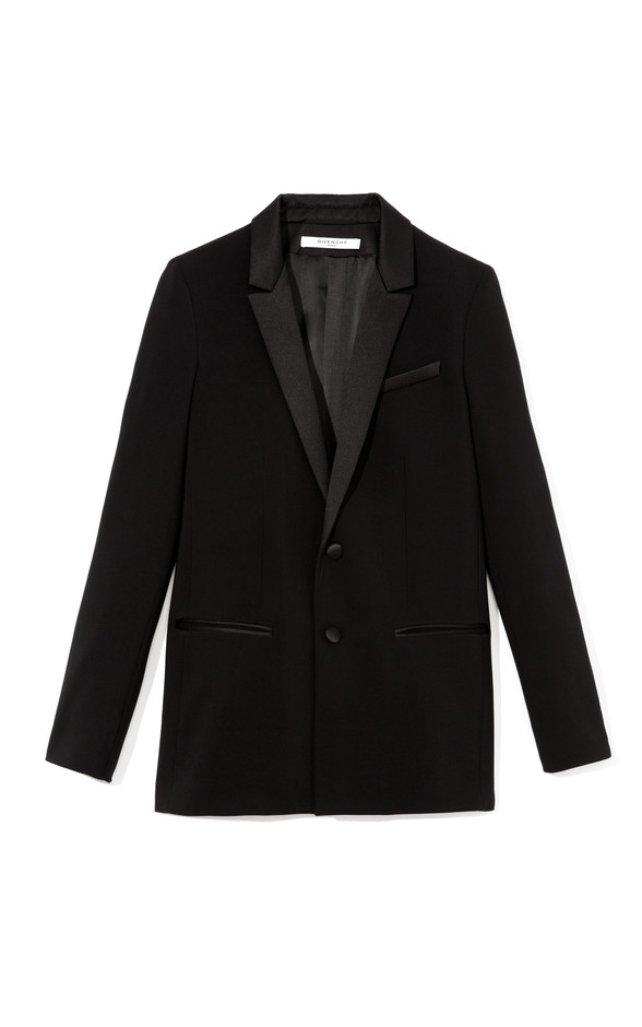Silk Cady Single Breasted Blazer by Givenchy Now Available on Moda Operandi