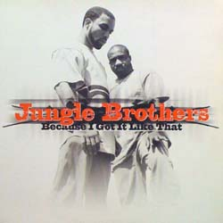 JUNGLE BROTHERS / BECAUSE I GOT IT LIKE THAT GEE STREET 12inch Vinyl record 中古レコード通販