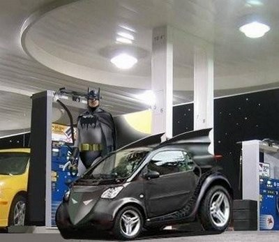 Mike Cane 2008: Badder Badass Batman Smart Car